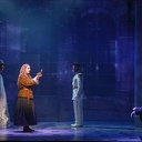 (left to right) Lauren Blackman, Christy Altomare, Constantine Germanacos and Derek Klena.