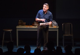 2 James Lecesne as Chuck in The Absolute Brightness of Leonard Pelkey - Photo by Matthew Murphy