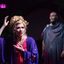 Scarlett Strallen and Esau Pritchett