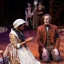 Shauna Miles, Robert Hannon Davis and the cast of A Christmas Carol